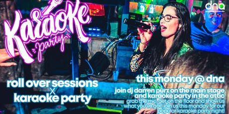 roll over sessions x karaoke party tickets