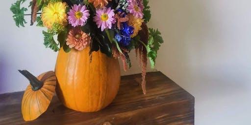 Floral Pumpkin Workshop