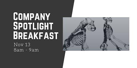Company Spotlight Breakfast at Almost Human Media tickets