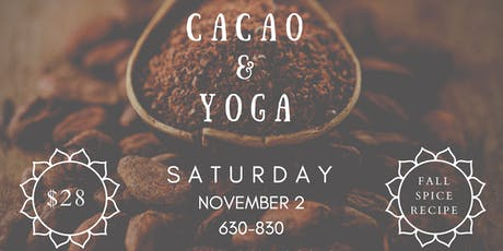 Cacao & Yoga tickets