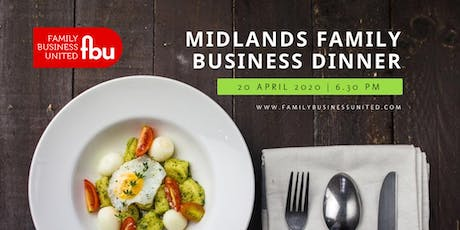 Midlands Family Business Dinner 2020 tickets