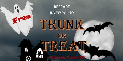 ResCare Trunk or Treat & Food Drive Community Outreach