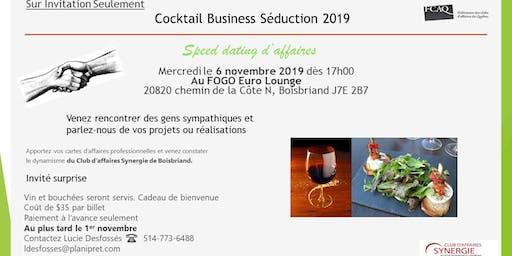 Cocktail Business Séduction 2019
