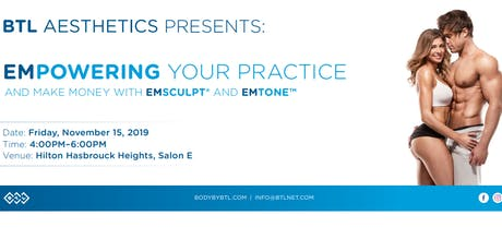 Empowering Your Practice and Make Money With Emsculpt and Emtone tickets
