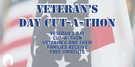 5th Annual Veteran's Day Cut-A-Thon