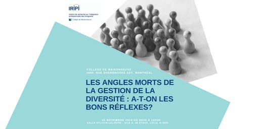 Angles morts de la gestion de la diversité : a-t-on les bons réflexes?