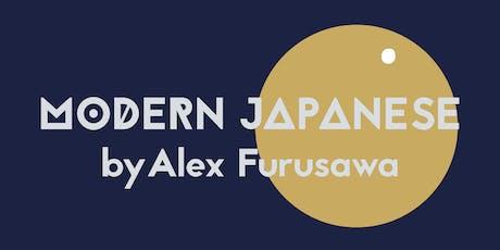 Modern Japanese Supper Club tickets