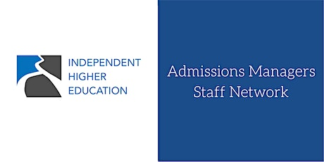 Admissions Managers Staff Network tickets