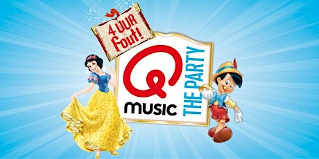 Qmusic the Party - 4uur FOUT! in Apeldoorn (Gelderland) 28-03-2020 tickets