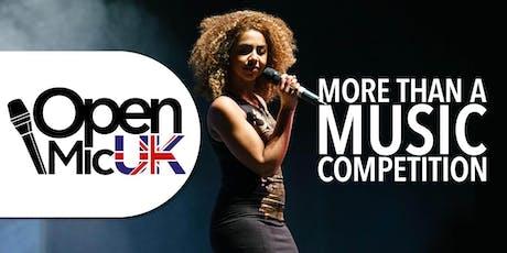 Open Mic UK Area Final -  tickets