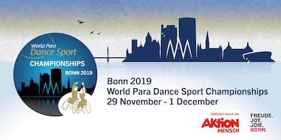 Bonn 2019 World Para Dance Sport World Championships