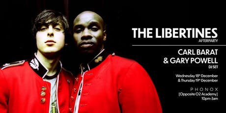 Official Libertines Afterparty | London tickets