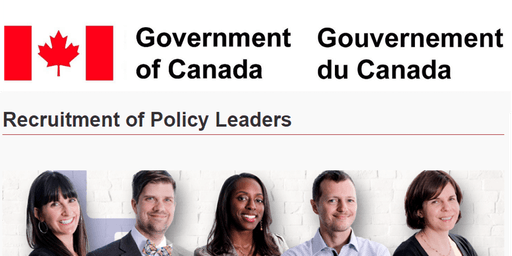 Canada's Public Service Recruitment of Policy Leaders Program Info Session
