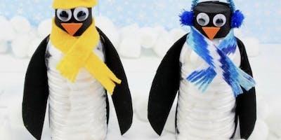 Penguin lantern making