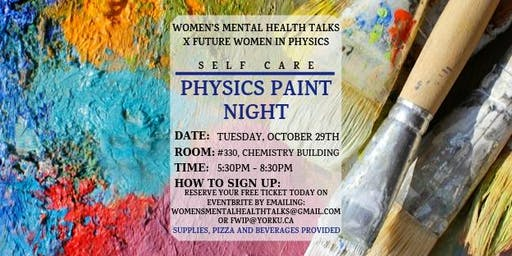 Physics Paint Night