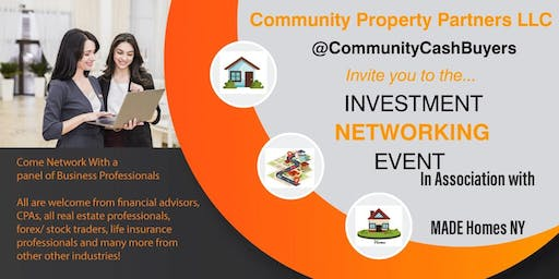 Investment strategy networking event