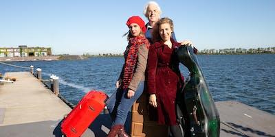 Winterconcert: Oda (zang), Doris (cello) Hochscheid, Frans van Ruth (piano)