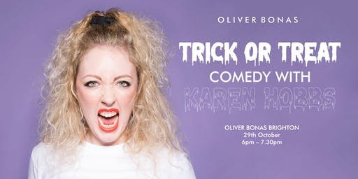 Trick or Treat Comedy With Karen Hobbs