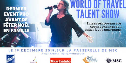 WORLD OF TRAVEL TALENT SHOW