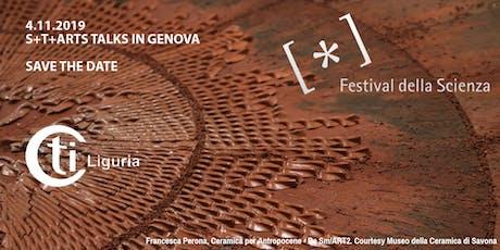 S+T+ARTS TALKS IN GENOVA biglietti