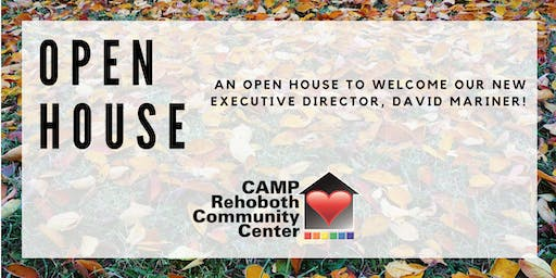 CAMP Rehoboth Executive Director Open House