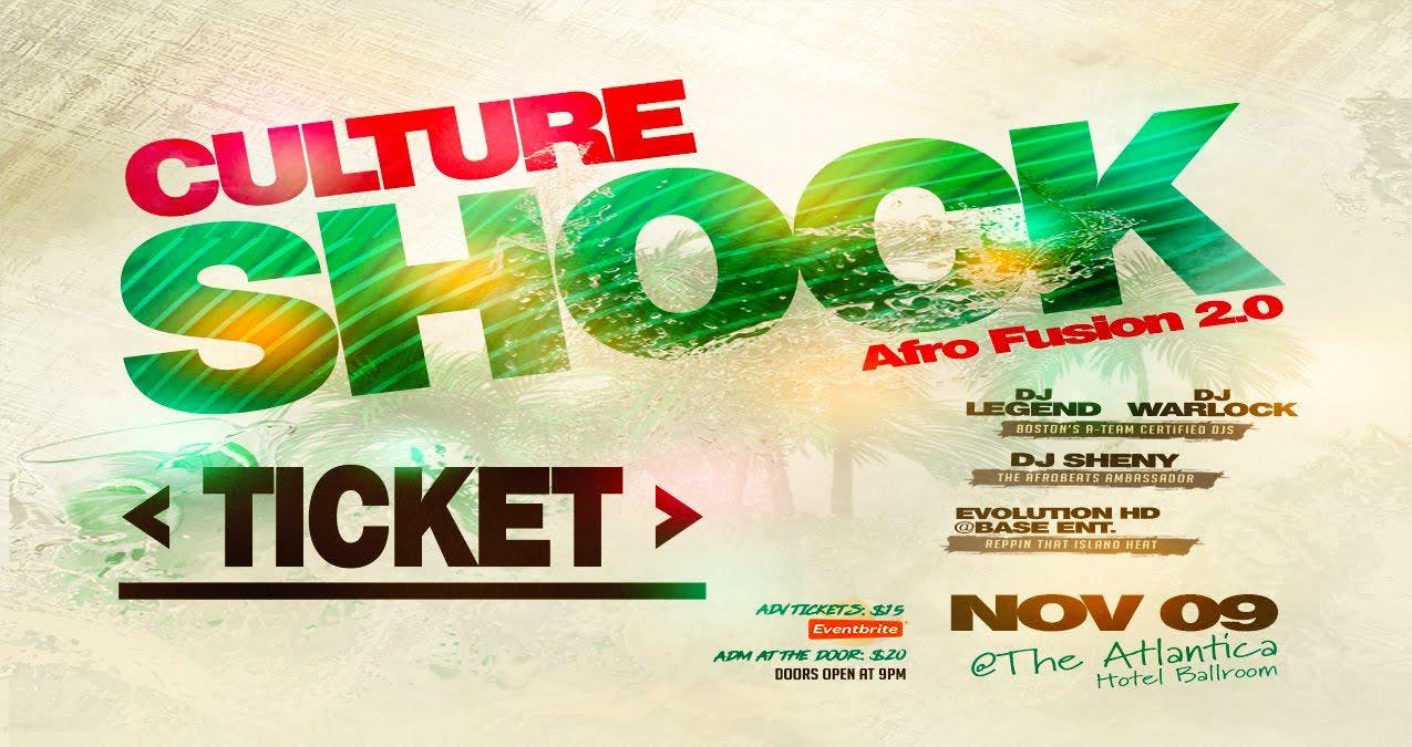 CULTURE SHOCK - Afro Fusion 2.0