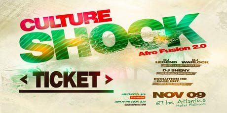 CULTURE SHOCK - Afro Fusion 2.0 tickets