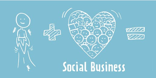 """Präsentation Social Business Report + Kick off Projekt """"re-use Förderung"""""""