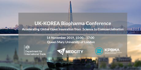 UK-KOREA BioPharma Conference  - Accelerating Global Open Innovation tickets