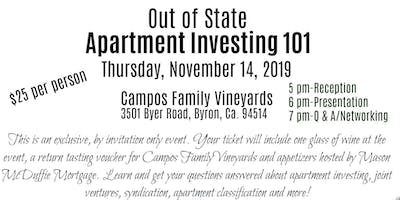 Out of State Apartment Investing 101