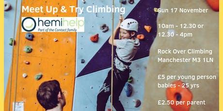 HemiHelp Meet Up & Try Climbing tickets