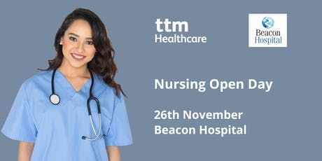 Beacon Hospital Nursing Open Day - 26th November 2019 tickets