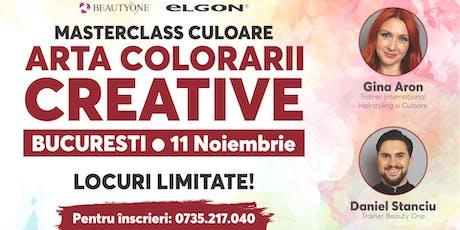 Masterclass - Arta Colorarii Creative tickets