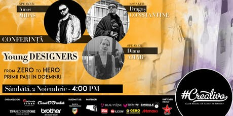 Young Designers - From Zero to Hero - Primii pasi - CREATIVO 2019 tickets