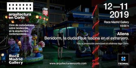Arquitectura en corto  12 de noviembre 2019  Madrid entradas