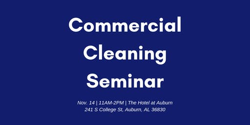 Commercial Cleaning Lunch and Learn