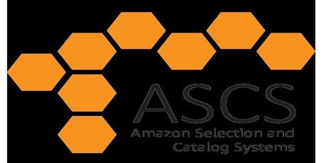 Amazon Selection & Catalog Systems Meet & Greet Session tickets