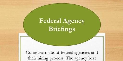 Federal Agency Briefings