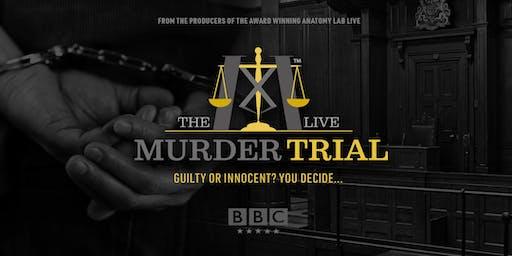 The Murder Trial Live 2020   Edinburgh 25/01/20