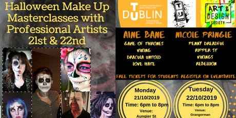 Makeup Masterclass with Film Industry Professionals tickets
