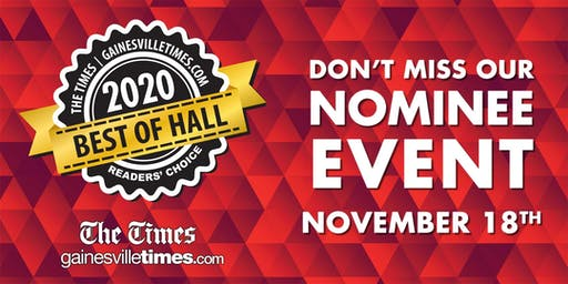 Best of Hall 2020 Nominee Event