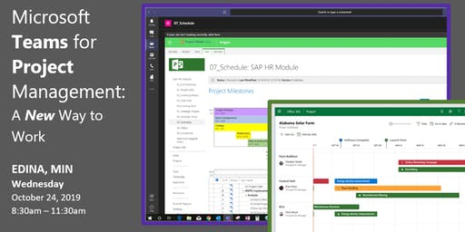 FLASH EVENT: Microsoft Teams  for Project Management: A New Way to Work
