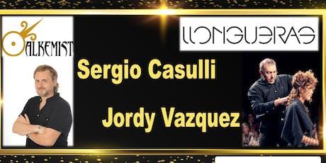 gruppo LLOUNGHERAS e SERGIO CASULLI Hair International 25 novembre Roma biglietti