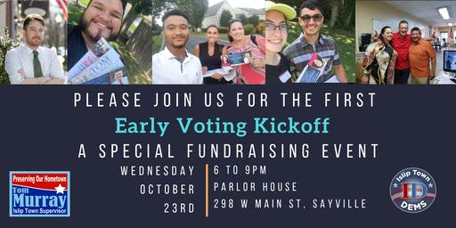 Early Voting Kickoff Fundraiser