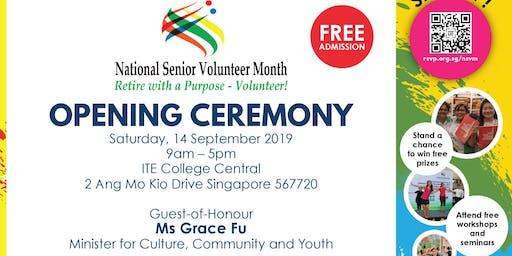 RSVP Singapore National Senior Volunteer Month