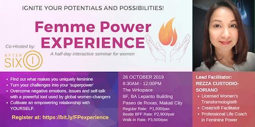 Femme Power EXPERIENCE (Batch 4)