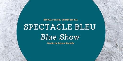 Récital d'hiver_Spectacle Bleu / Winter Recital_Blue Show