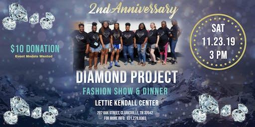 2nd Anniversary Diamond Project Fashion Show & Dinner