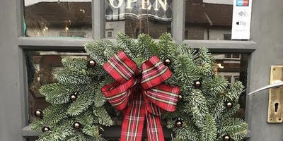 Christmas Wreath Making with Margot Flowers at Courtyard 36 - Extra Date!
