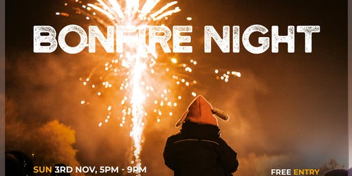 Bonfire Night at Saint Hill